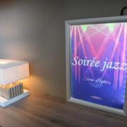 Cadreclic lumineux mural - Doal Concept enseigne et signalétique en ligne
