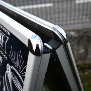 Chevalet Cadreclic avec angles - panneaux de trottoir - Doal concept enseignes et signalétiques en ligne