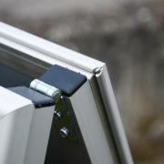 Chevalet Cadreclic sans angles - panneaux de trottoir - Doal concept enseignes et signalétiques en ligne