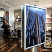 Portes affiches sur pied double face - formats A4 - Doal concept enseignes et signalétiques en ligne