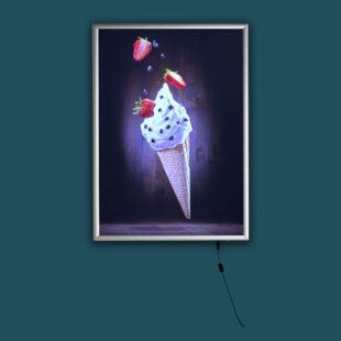 Cadre lumineux mural - Doal concept enseignes et signalétiques en ligne