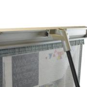 Porte document petite grille - Doal Concept enseigne et signalétique en ligne