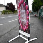 Esquivent - panneaux de trottoir - avec deux ressorts - Doal concept enseignes et signalétiques en ligne