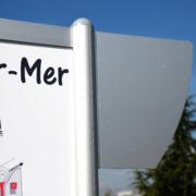Blasons droit - accessoire pour bimât - Doal concept enseignes et signalétiques en ligne