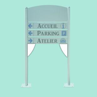 Corners - accessoires pour bimât - Doal concept enseignes et signalétiques en ligne