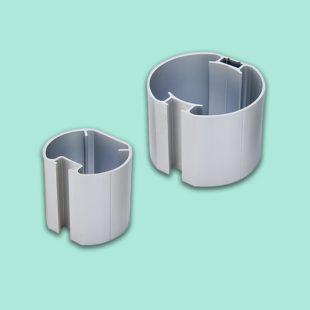 Mât anodisé en aluminium - Doal concept enseignes et signalétiques en ligne