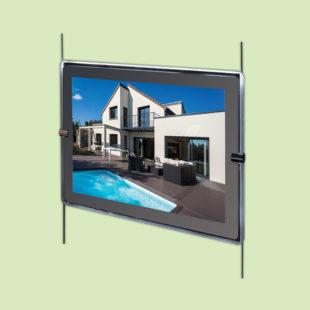 Porte affiches LED horizontal - Doal concept enseignes et signalétiques en ligne