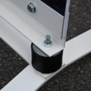 Esquivent - panneaux de trottoir - avec deux Silent bloc - Doal concept enseignes et signalétiques en ligne