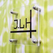 Doal Concept - entretoise murale en inox pour enseigne extérieure